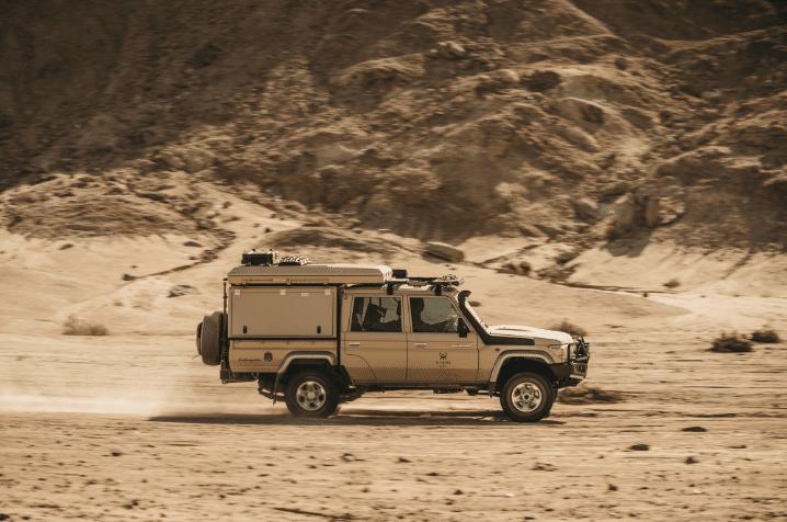 Overlanding Namibia
