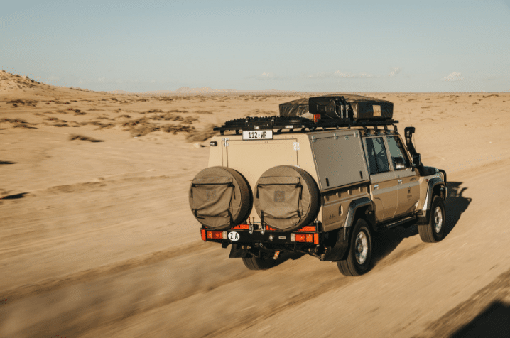 Overland raw real and remote places